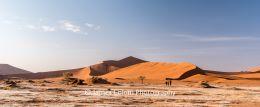 Sand dunes at Sossussvlei