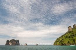 Hong Islands in the Andaman Sea near Krabi, Thailand