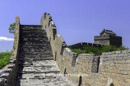 Stairs on The Great Wall of China near Jinshanling, China