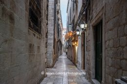 Empty streets during Covid-19 pandemic in Dubrovnik, Croatia
