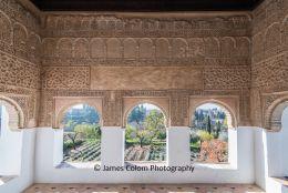 Nasrid Palace at Alhambra, Granada, Spain