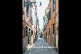Empty streets during Covid-19 pandemic, Venice, Italy
