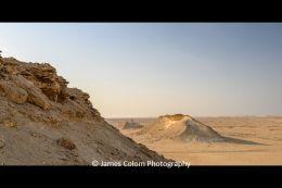 Zekreet escarpments near Al Reem Biosphere Reserve, Qatar
