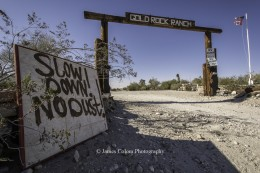 Gold Rock Ranch, Mojave Desert, California