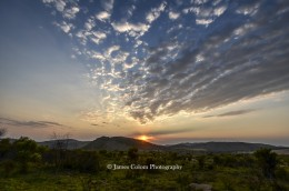 Sunrise at Pilanesberg