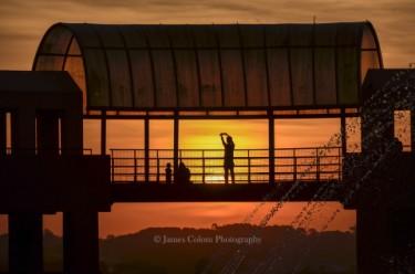 Sunset at Tangua Park, Curitiba