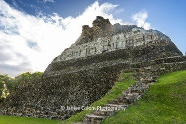 Xunantunich main temple