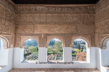 Nasrid Palace at Alhambra, Granada, Spain