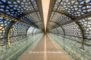 Walkway to the Royal Opera House of Musical Arts, Muscat, Oman