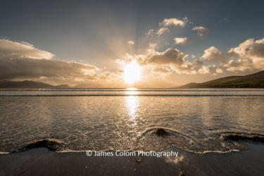 Sunset at Inch Beach, Ireland