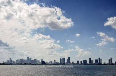 Miami City Skyline