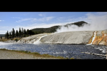 Yellowstone: Overflow from the Grand Prismatic Spring