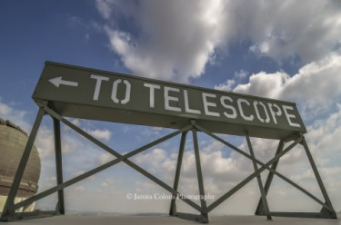 Griffith Observatory Telescope Sign