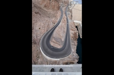 Road to the Hoover Dam