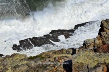 Waves Crashing on Robben Island