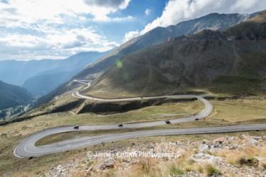 Up the Transfăgărășan (Transfagarasan) Highway, Romania