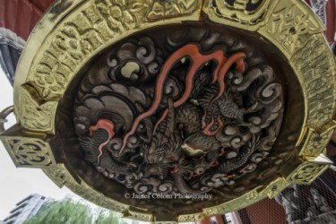 Dragon lantern, Asakusa, Tokyo