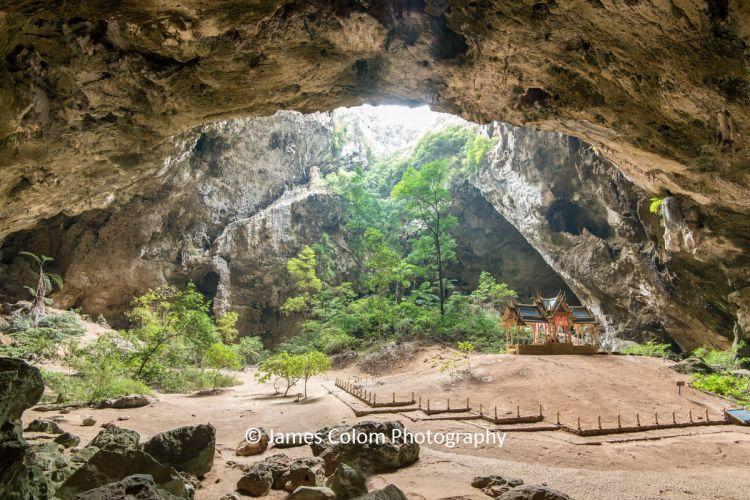 The Temple Pavilion in Phraya Nakorn Cave, Khao Sam Roi Yot National Park, Thailand