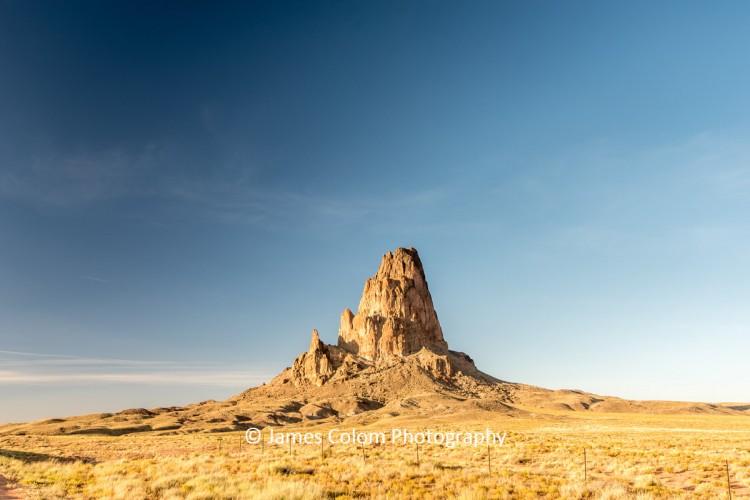 Agathla Peak (El Capitan) near Monument Valley, Arizona