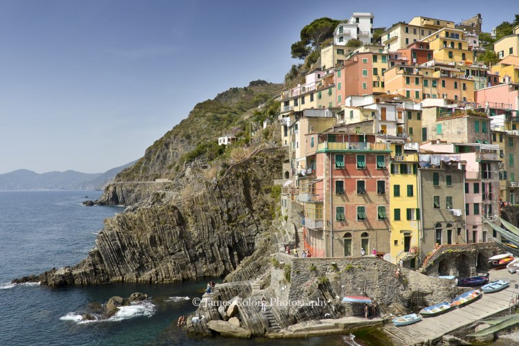 Village in the Cinque Terre, Italy