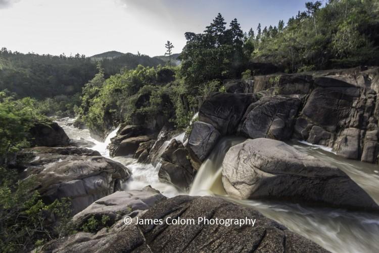 Rio On waterfall