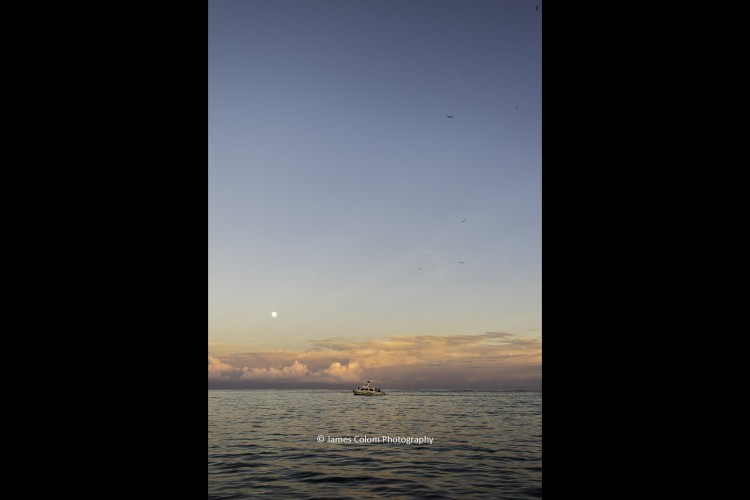 Moonrise at San Pedro