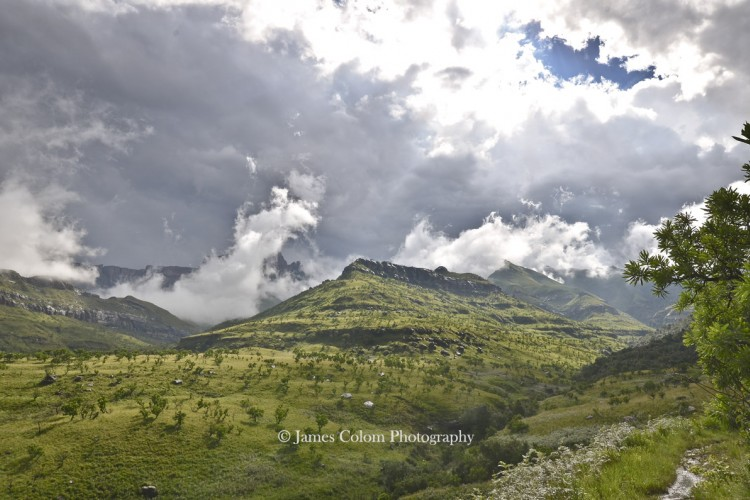 Drakensberg Dragon after the Storm