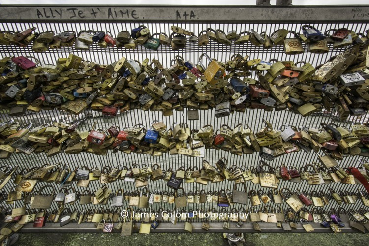 Lucky Love Locks, Pont des Arts, Paris