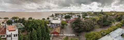 View from lighthouse, Colonia del Sacramento, Uruguay