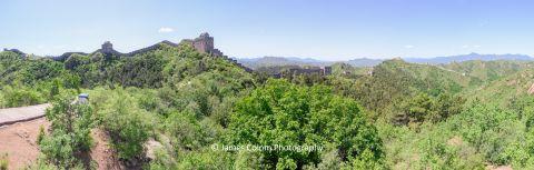 Great Wall of China at Jinshanling, Hebei Province, China