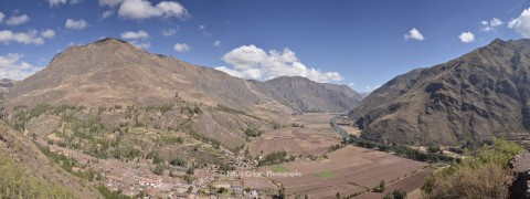 Sacred Valley near Urubamba, Peru