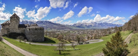 View from Castle Vaduz, Liechtenstein