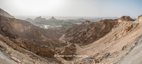 Jabel Hafeet Viewpoint near Al Ain, Dubai, United Arab Emirates