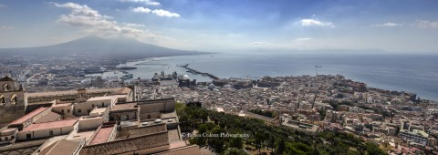 View of Bay of Naples from Sant'Elmo