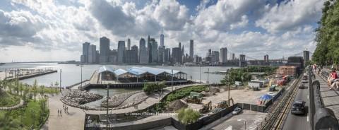 Manhattan from Booklyn Park, New York City, NY