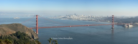 Golden Gate Bridge from Marin Headlands